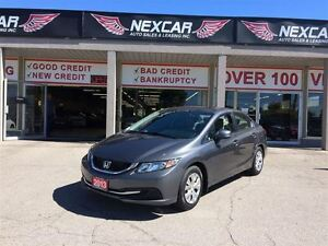 2013 Honda Civic LX 5 SPEED A/C CRUISE ONLY 100K