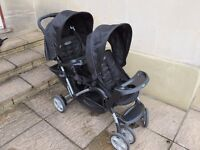 Graco Stadium Duo Tandem Pushchair - Double Buggy
