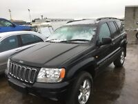 Jeep Grand Cherokee spare parts diesel