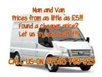 Reliable, Professional Man and Van Services