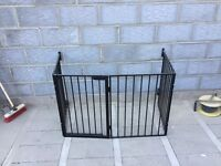 Fireguard/ stair gate/wood burner