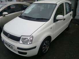 FIAT PANDA 1.1 2010 IN WHITE ONLY 21,000 MILES