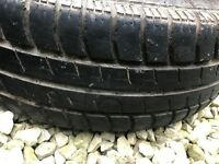 165 60 R14. 2 tyres part worn in good condition, plenty tread left On them