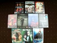 10 Dvd Movies Bundle (Action SciFi)