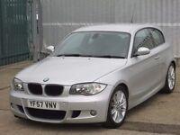 2007 (57 reg), BMW 1 Series 2.0 120d M Sport 3dr