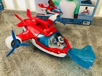 Paw Patrol Air Patroller with Robodog and complete with original box