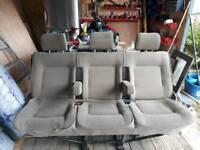 3 seats for van