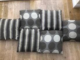 "6 x Next Cushions 16 x 16"""