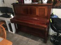 German Upright Piano - Free to Collect