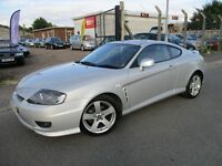 Hyundai Coupe 2.0 SE 3dr LOW MILEAGE PARTS AND LABOUR WARRANTY INCLUDED AUTOMATIC LEATHER SUNROOF