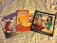 3 Calvin & Hobbes in english