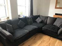 Black 2 Corner 1 Scatter back Sofa