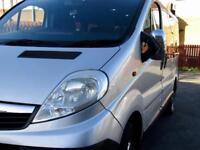 Vauxhall Vivaro 2.0 Turbo Diesel 9 seater mini bus