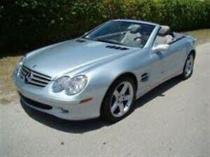 2004 Mercedes-Benz SL-Class SL500  ROADSTER -- SPORTS PKG