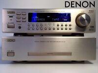 Denon POA-F100 Power Amplifier and AVR-F100 Surround 5.1 Receiver