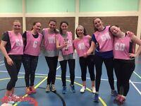 Enter into our social/recreational netball league in Clapham South