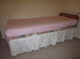 Single Divan bed frame only