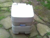 caravan or camper kempa porta flush toilet