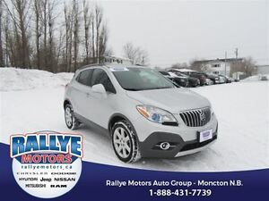 2016 Buick Encore Leather! AWD! Back-Up! Alloy! Nav! Leather!