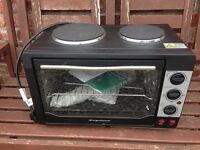 Worktop oven and grill