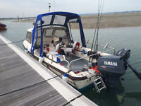 17ft Dell Quay Dory Fishing, Pleasure boat. Yamaha 90hp outboard