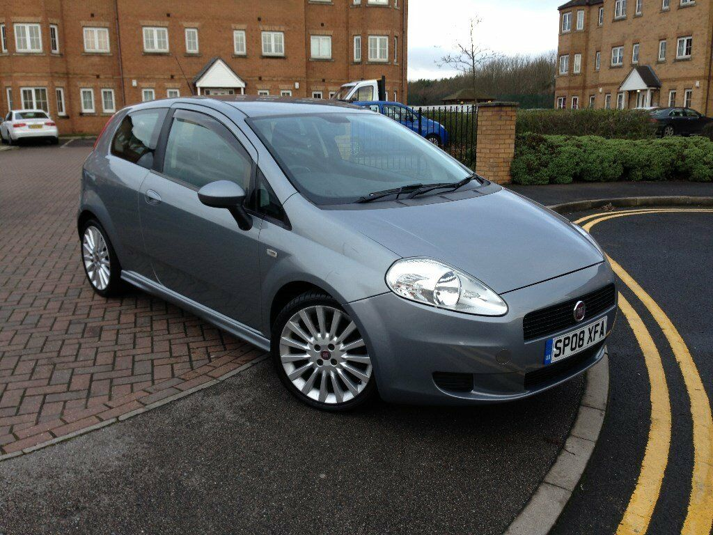 fiat punto sporting 1 9 m jet 2008 08 plate 6 speed manual in hull east yorkshire. Black Bedroom Furniture Sets. Home Design Ideas