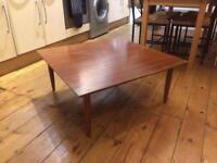 Teak coffee table (1960s)