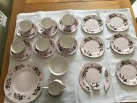 Colclough 21 piece tea set