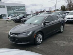 2015 Chrysler 200 Limited   CAM   ONE OWNER   Bluetooth