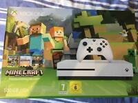 Xbox one S 500GB minecraft edition console
