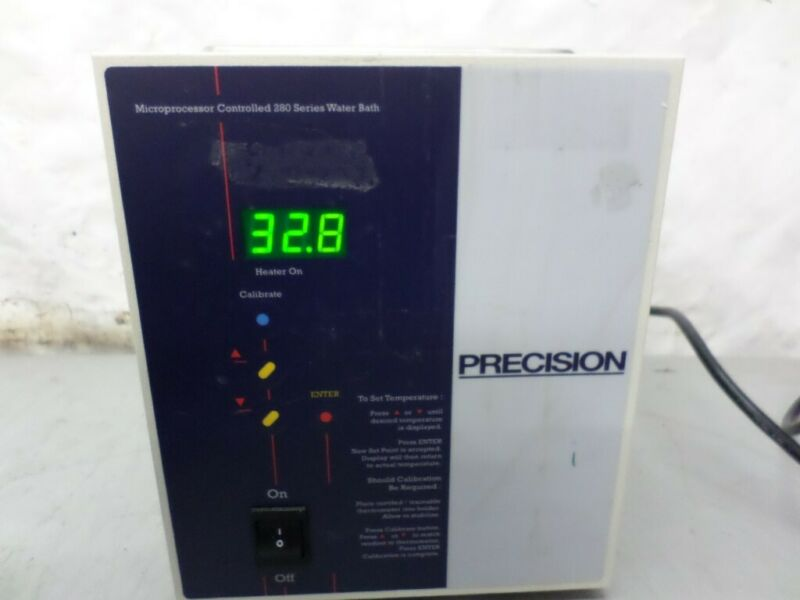 Precision 51221046 Microprocessor Controlled Water Bath With Lid