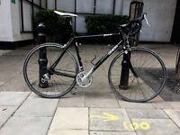 Genesis Aether 56cm, Black Alu & Carbon Race Bike