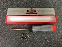 Snap on. McLaren. Ratchet screwdriver