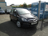 2006 55 VAUXHALL ZAFIRA 1.6 EXPRESSION 68,000 MILES ONLY BARGAIN!!!!!!