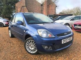 Ford Fiesta 1.2 Petrol Zetec Climate NEW MOT Electrically Folding Mirrors Air Con Alloys Heated Scrn