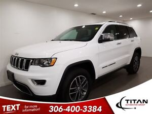 2018 Jeep Grand Cherokee Limited|4X4|CAM|Leather|Sunroof