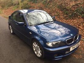 BMW 2001 Facelift 330D Diesel M Sport Topaz Blue Automatic