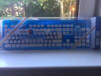 Rock candy water resistant keyboard