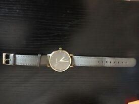 Nixon grey watch for sale - half price