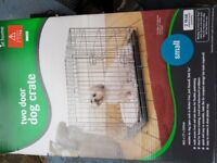 Dog crate cage small from Pets At Home