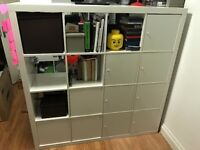 Ikea Expedit 4x4 with 10 doors