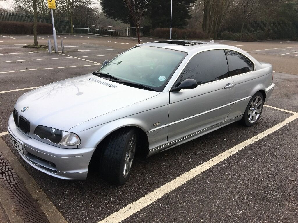 bmw 320 ci e46 coupe 2 door silver in north finchley london gumtree. Black Bedroom Furniture Sets. Home Design Ideas