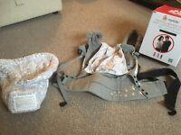 Ergobaby original bundle of joy baby carrier and infant insert