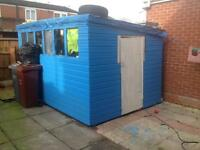 Garden shed very large 12x8 workshop