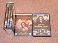 Twilight saga - 5 DVDS