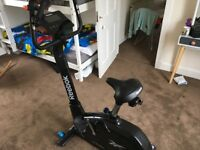 Reebok zr10 exercise bike in excellent condition, hardly used
