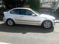 BMW 3 SERIES 316TI ES 1.8 3 DOOR GENIUNE 63630 MILES 1 YEARS MOT FREE 3 MONTHS WARRANTY