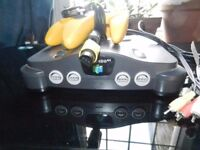 Nintendo 64 with extras