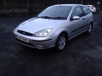 2002 FORD FOCUS 1.6 PETROL, MOT.07.2017..PRICE; 699 PX/EXCH