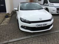 Volkswagen Scirocco R Line Blue Motion 2.0 TDI 140 BHP 2012 will come with full MOT only 51500 miles